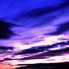 Purple Sunset by George Hunter