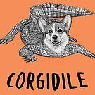 Corgidile | Corgi + Crocodile Hybrid Animal by Jessie Fox - Whatif Creations