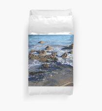 Blue Sea at Portsoy Beach II Duvet Cover