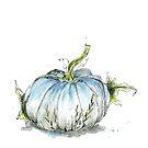 Once In A Blue Pumpkin by Leliza
