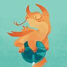 «Dragonpop espinoso arándano cítrico» de Colordrilos