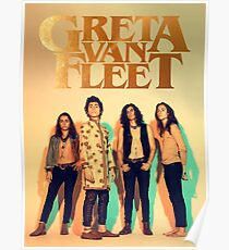 Poster Gold Greta summer tour Van Fleet Anthem of the pecadeful army Poster