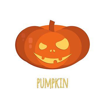 Halloween  pumpkin  by nekolaimonev