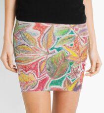 Otoño colorido Minifalda