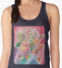 Otoño colorido Camiseta de tirantes para mujer