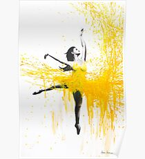 Sunflower Dancer Poster