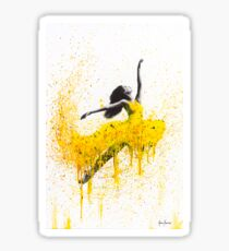 Sunflower Dancing Sticker
