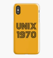 Unix 1970 iPhone Case