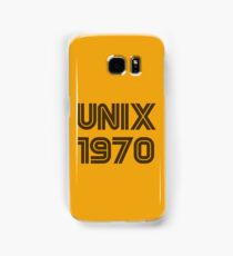 Unix 1970 Samsung Galaxy Case/Skin