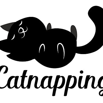 Catnapping in black by jazzydevil