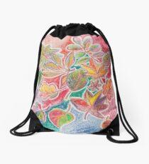 Otoño colorido Mochila de cuerdas
