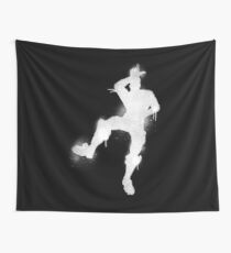 Fortnite L Dance Spray White Wall Tapestry