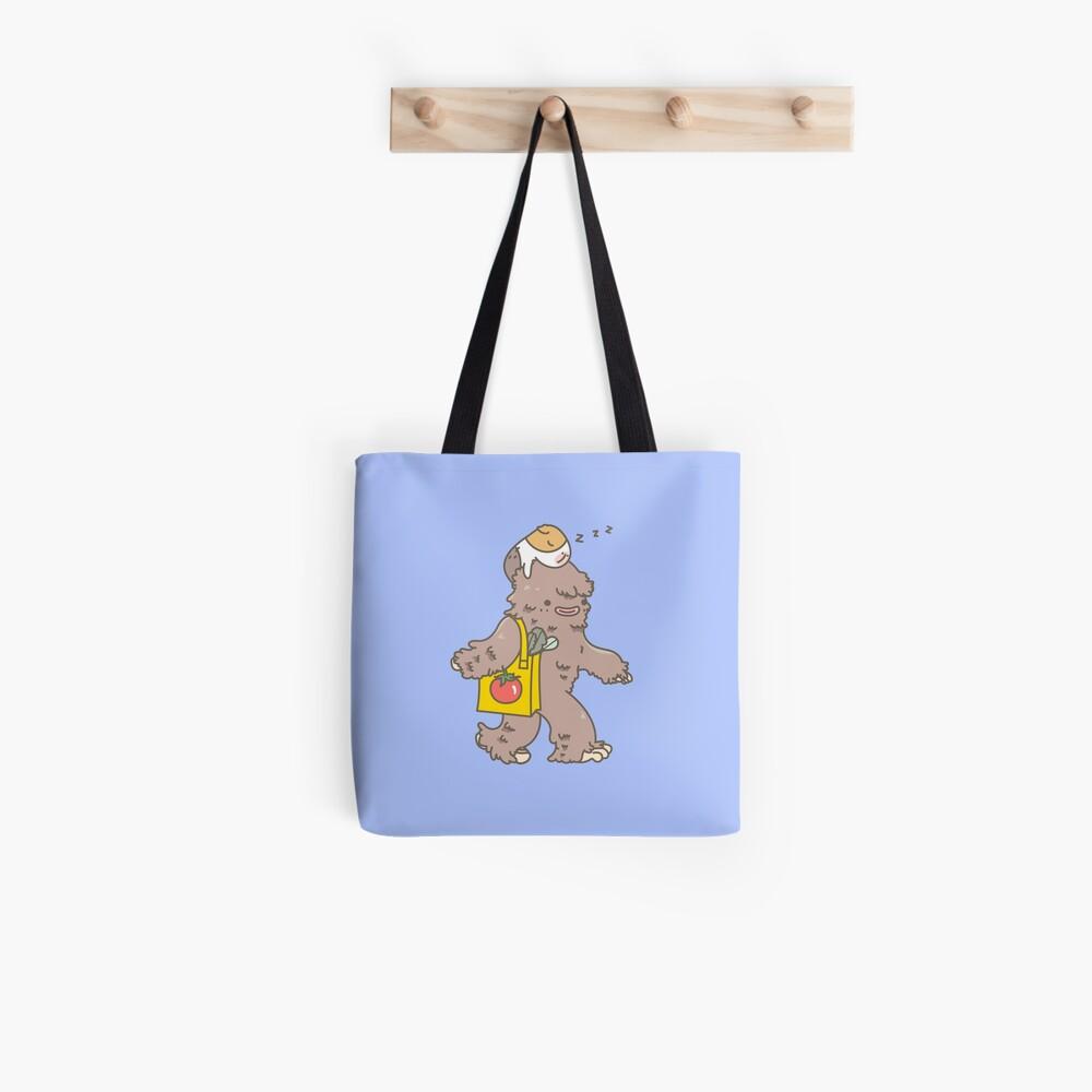 Bubu the Guinea Pig, Bigfoot Baby Sitter Tote Bag