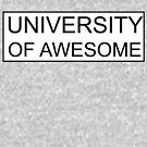 University of awesome by amak