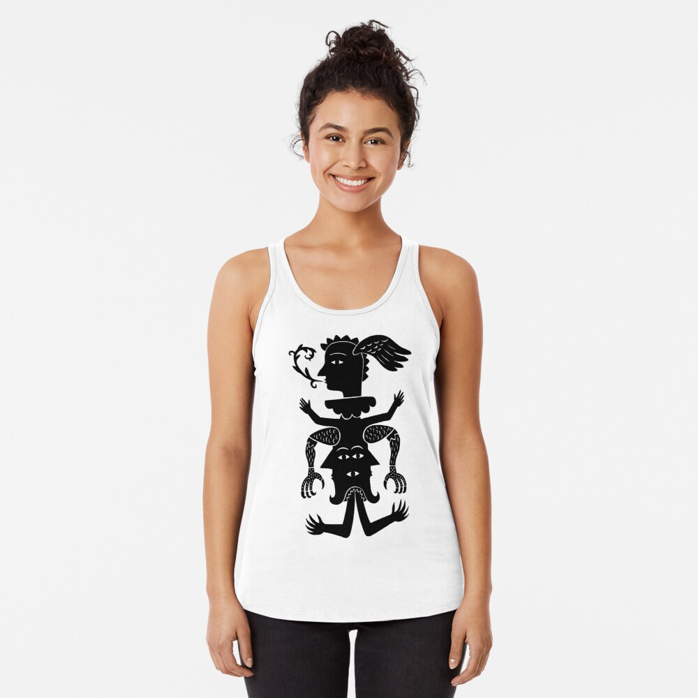 Totems today Racerback Tank Top