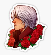 Dante | Red Rose | DMC5 Sticker