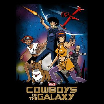 Space cowboys of the galaxy by BoggsNicolasArt