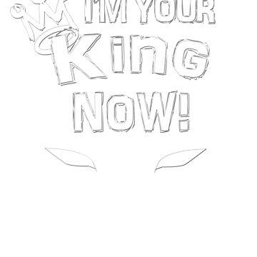 I'm your king Black Superhero tshirt by kmpfanworks