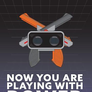Nintendo Retro Gaming Poster by innergeekdesign