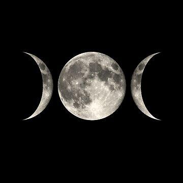 Luna mágica de wolfandbird