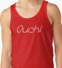 "The Chad ""Ouch!"" Slogan Men's Tank Top"