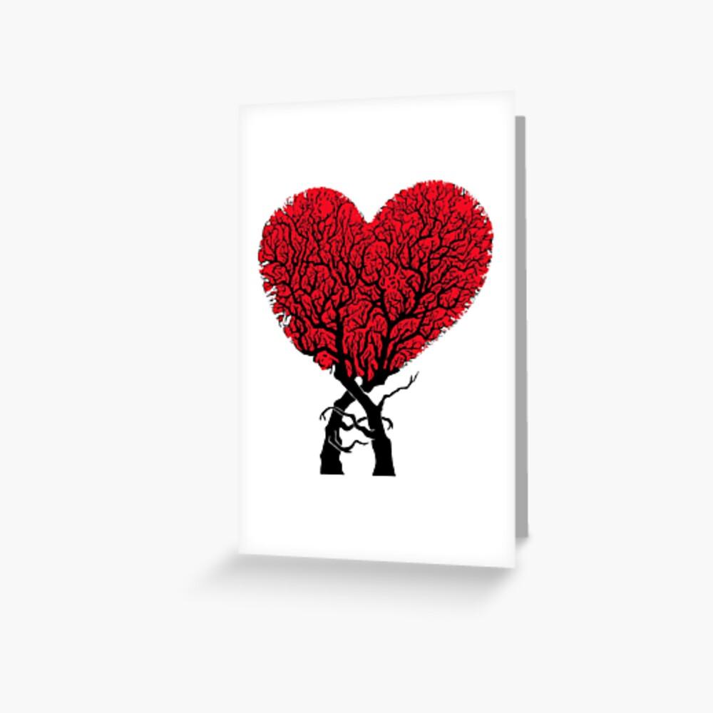Liebe Grußkarte
