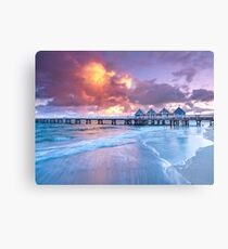 Busselton Jetty Sunrise Metal Print