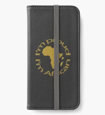 African map ,African love gift,Map of Africa,Black Africa  iPhone Wallet/Case/Skin