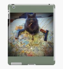 Raymond Purrington iPad Case/Skin
