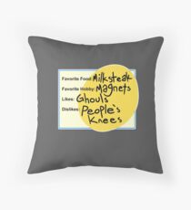 Charlie's Dating Profile Floor Pillow