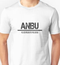 ANBU full kanji— Black Unisex T-Shirt