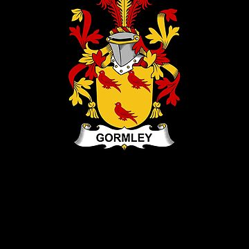Gormley Coat of Arms - Family Crest Shirt by FamilyCrest