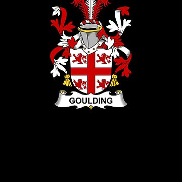 Goulding Coat of Arms - Family Crest Shirt by FamilyCrest