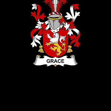 Grace Coat of Arms - Family Crest Shirt by FamilyCrest