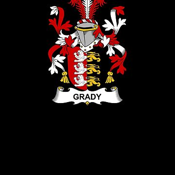 Grady Coat of Arms - Family Crest Shirt by FamilyCrest