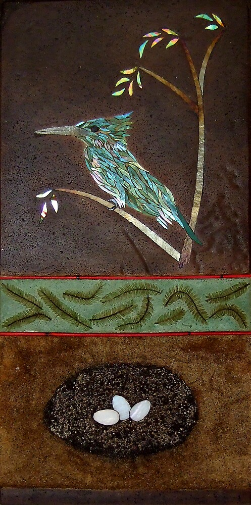 Kingfisher by Leslie Guinan