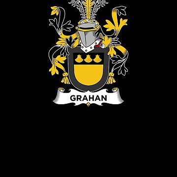 Grahan Coat of Arms - Family Crest Shirt by FamilyCrest