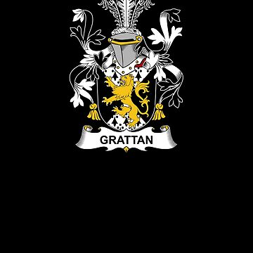 Grattan Coat of Arms - Family Crest Shirt by FamilyCrest