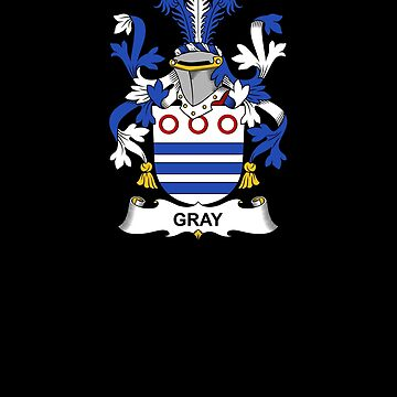 Gray Coat of Arms - Family Crest Shirt by FamilyCrest