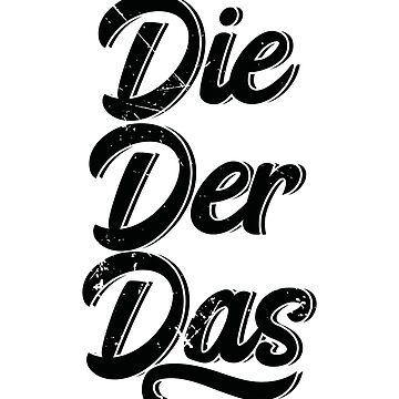 Die Der Das (v2) by BlueRockDesigns