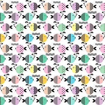Cartoon fish by fuzzyfox