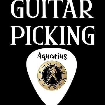 Guitar Picking Aquarius by WUOdesigns