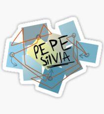 Pepe Silvia Sticker