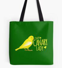 Verrückte Kanarienvogel (Vogel) Lady Tasche