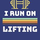 Weight Lifting Humorous T-Shirt by Laughingbellies