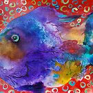 Aloha Fish  Bright and Beautiful by Sharon Welch