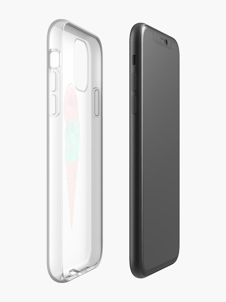 coque griffin survivor iphone 7 - Coque iPhone «Crâne De Glace», par ps116