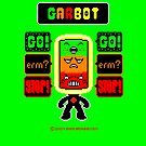 GARBOT Green Background by atombat