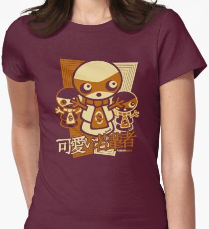 Snowman Mascot Stencil T-Shirt