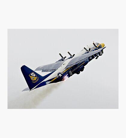 Fat Albert - Blue Angels Support Hurcules Photographic Print